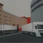 Camion alla Bicocca, 2012