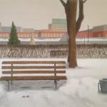 Panchina a Gorky Park, 2013