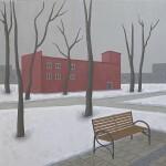 Kurskaja, con panchina, 2020